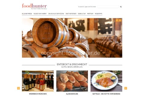 foodhunter -  the food makes the story