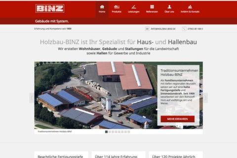 Holzbau-Binz