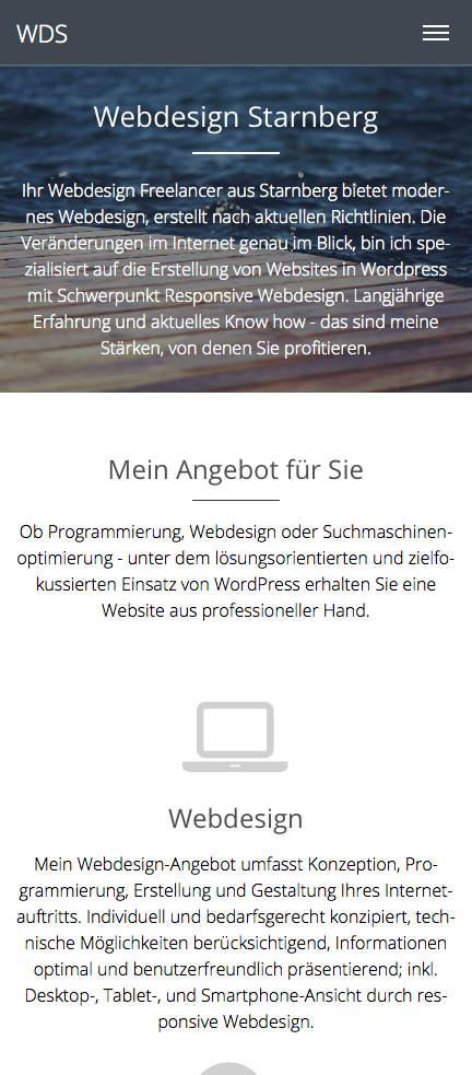 Webdesign Starnberg - Mobile