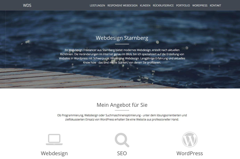 Webdesign Starnberg Wds