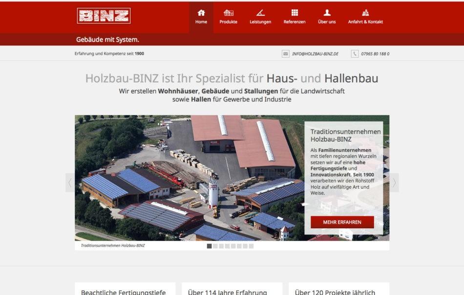 Holzbau-Binz - Startseite