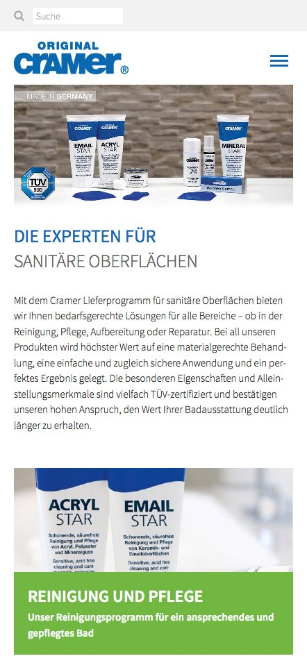 Cramer GmbH - Mobile