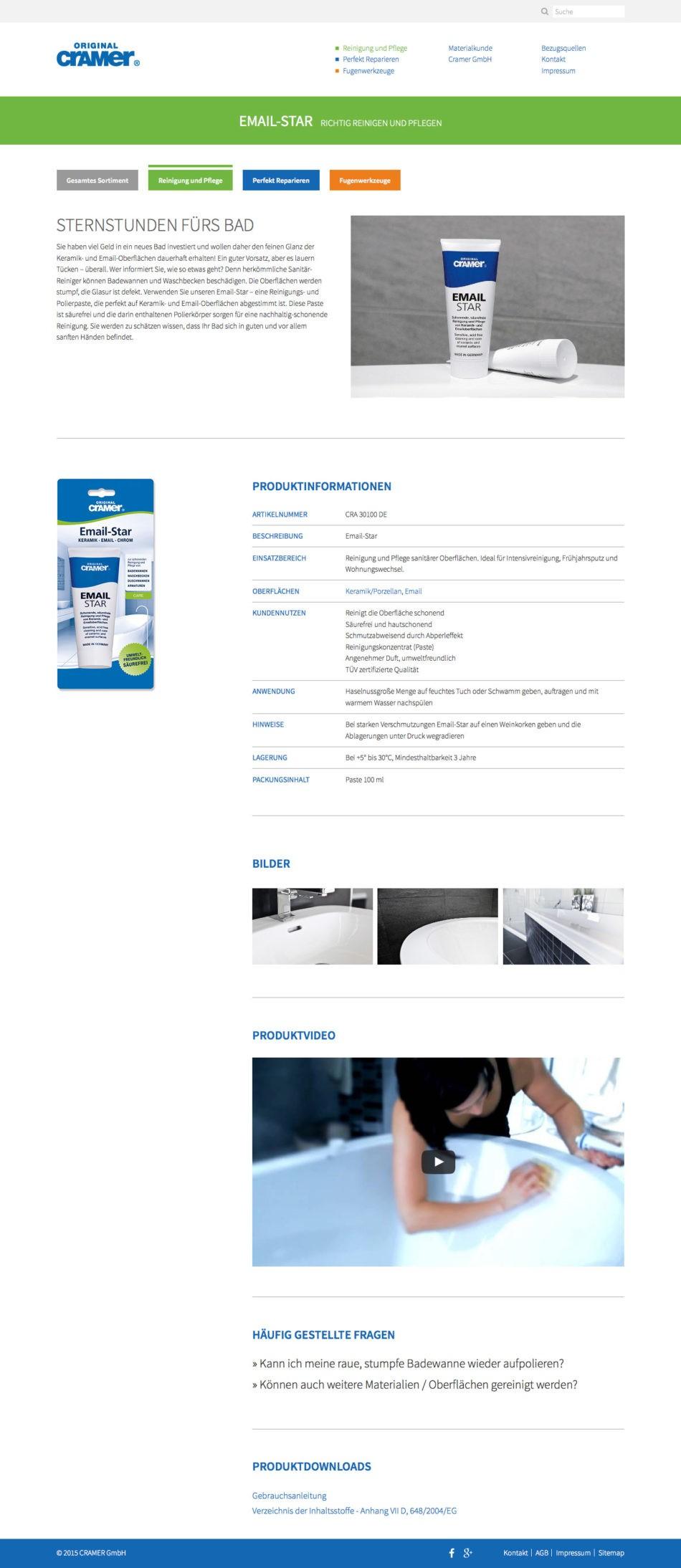 Cramer GmbH - Produkt